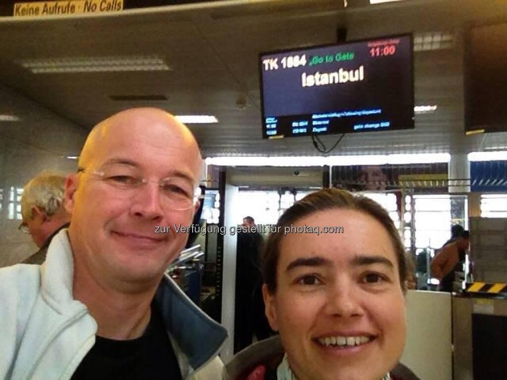 wingsofkilimanjaro: jetzt geht's los :-) Vienna - Istanbul - Kilimanjaro Airport, © Karl Mauracher (21.01.2013)
