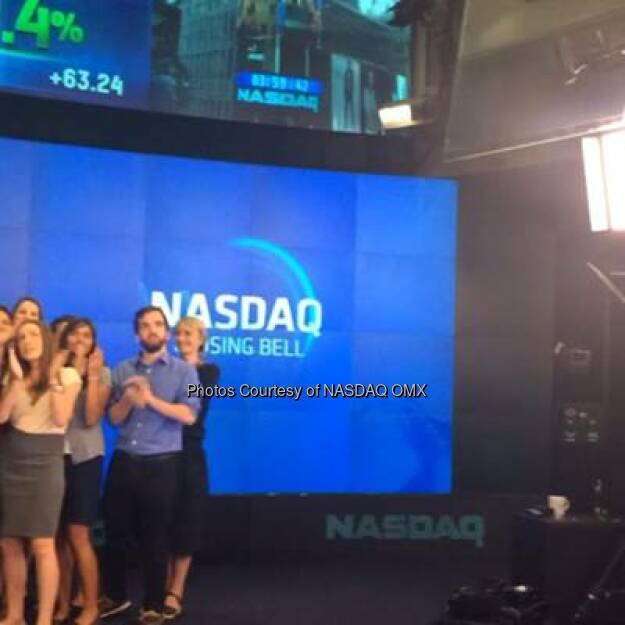 Watch Quartz ring the @NASDAQ Closing Bell. Happy 2nd Anniversary @qz! @qzbulletin #hyperlapse  Source: http://facebook.com/NASDAQ (06.09.2014)