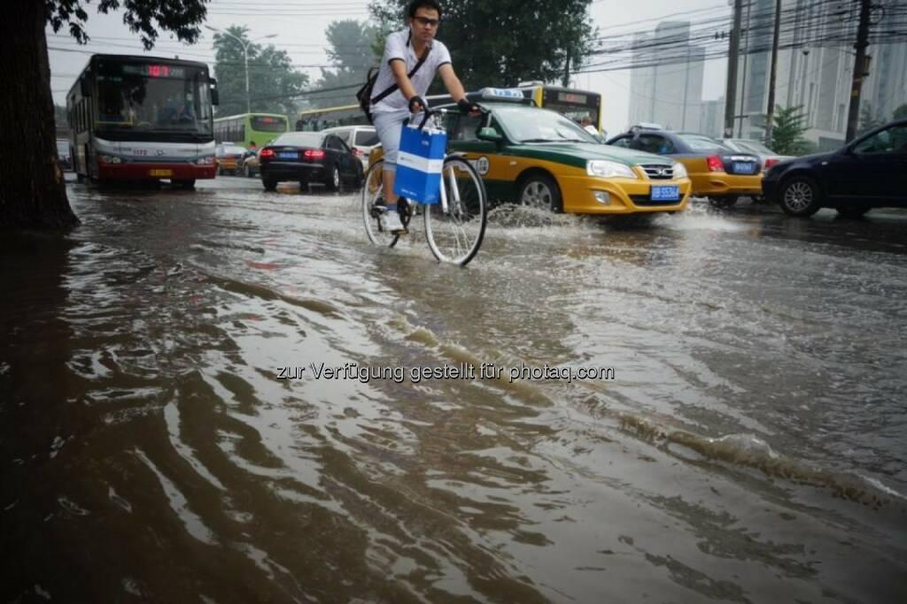Hochwasser Peking, © Dirk Herrmann (06.09.2014)