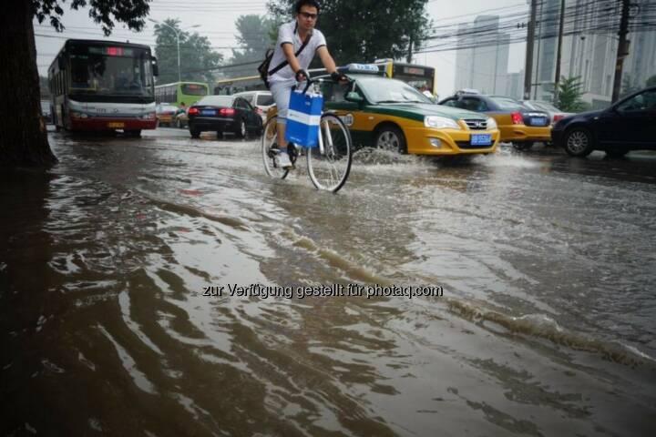 Hochwasser Peking
