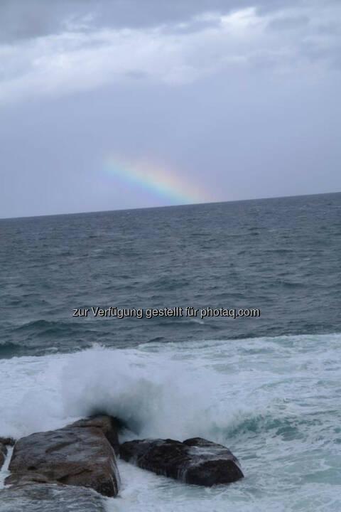 Regenbogen, Meer