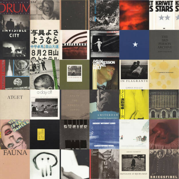 More than 50 books (by Krass Clement, Cristina de Middel, Kriwet, Ken Schles, Michael Schmidt, Doug Rickard, Robert Frank, Daido Moriyama, Man Ray, Alec Soth ...) and price investigations here: http://www.photaq.com/page/index/562/fotobucher_-_preiserhebungen_photobooks_price_investigations (07.09.2014)