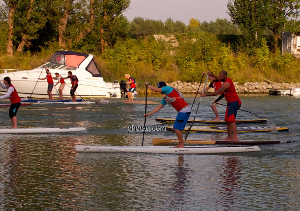 Rennen - Wiener SUP-Meisterschaften 2014 in der Kuchelau (08.09.2014)