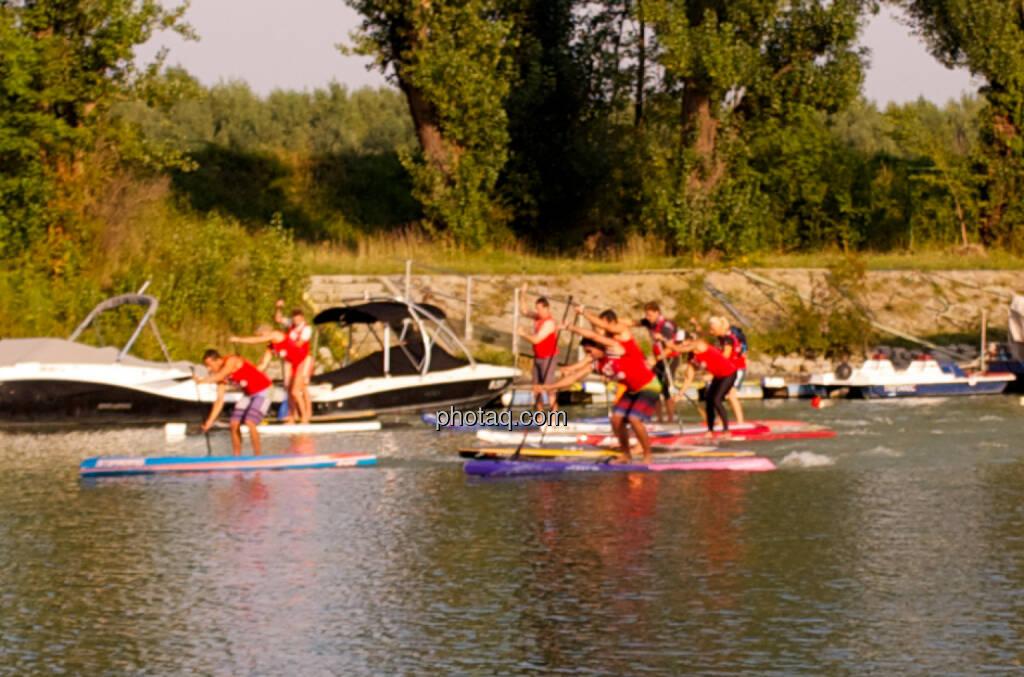 Wettbewerb - Wiener SUP-Meisterschaften 2014 in der Kuchelau (08.09.2014)