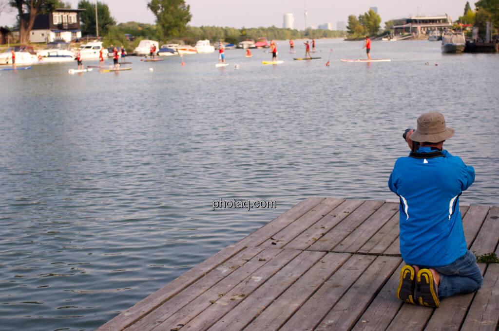 Foto - Wiener SUP-Meisterschaften 2014 in der Kuchelau (08.09.2014)