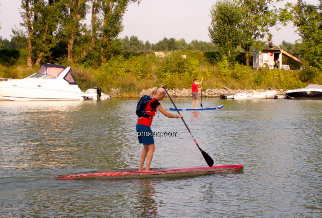 Wiener SUP-Meisterschaften 2014 in der Kuchelau (08.09.2014)