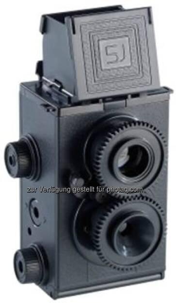 Somikon: Zweiaeugige Spiegelreflex-Lomographie-Kamera zum Selberbauen: : Aus 67 Einzelteilen entsteht Schritt fuer Schritt eine echte kleine Twin-Lense-Reflex-Kamera (23.01.2013)