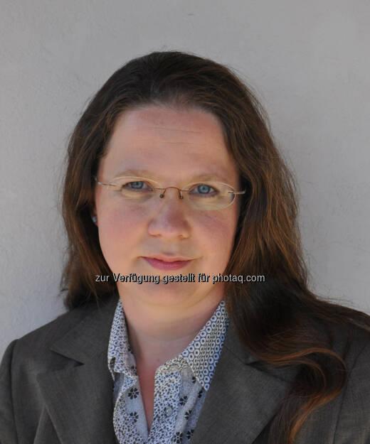 Michaela Reda verantwortet ab sofort das Qualitätsmanagement bei Bayer Austria und fungiert zudem als Local Quality Representative., © Aussender (09.09.2014)