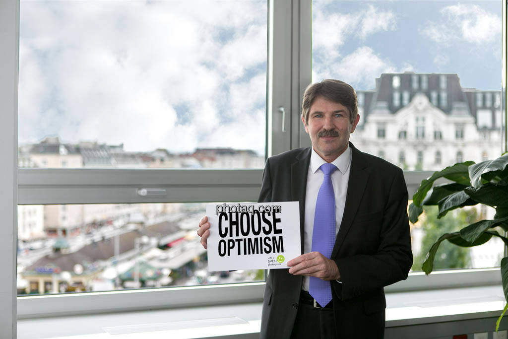 Ernst Vejdovszky (S Immo), Choose Optimism, © photaq/Martina Draper (09.09.2014)
