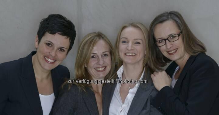 Gabriele Adelsberger, Claudia Muigg, Claudia Schrettl und Claudia Trenkwalder : Mit Die Beraterinnen und dem Menschen im Fokus zum wirtschaftlichen Erfolg