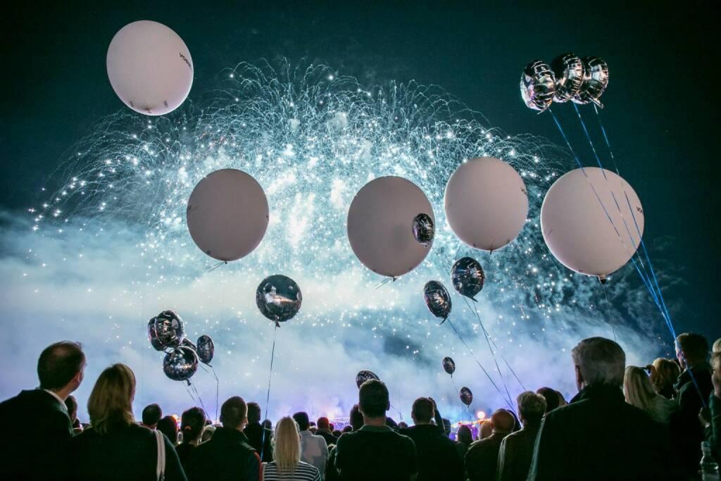 Lufballone, Feuerwerk (Bild: voestalpine/Linz AG) (10.09.2014)