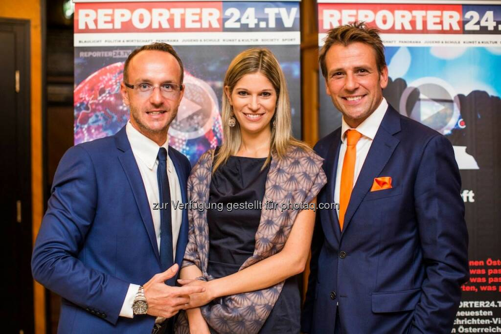 Jürgen Peindl, Alexandra Seyer, Volker Piesczek, © via Alba (11.09.2014)