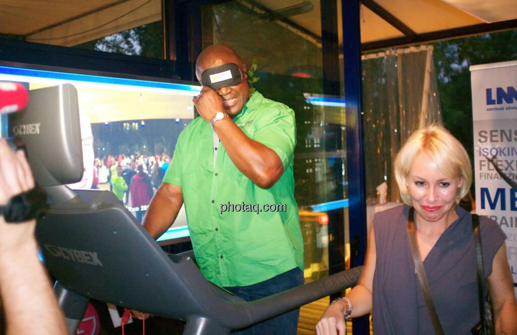 Biko Botowamungu, Christine Grafinger (11.09.2014)