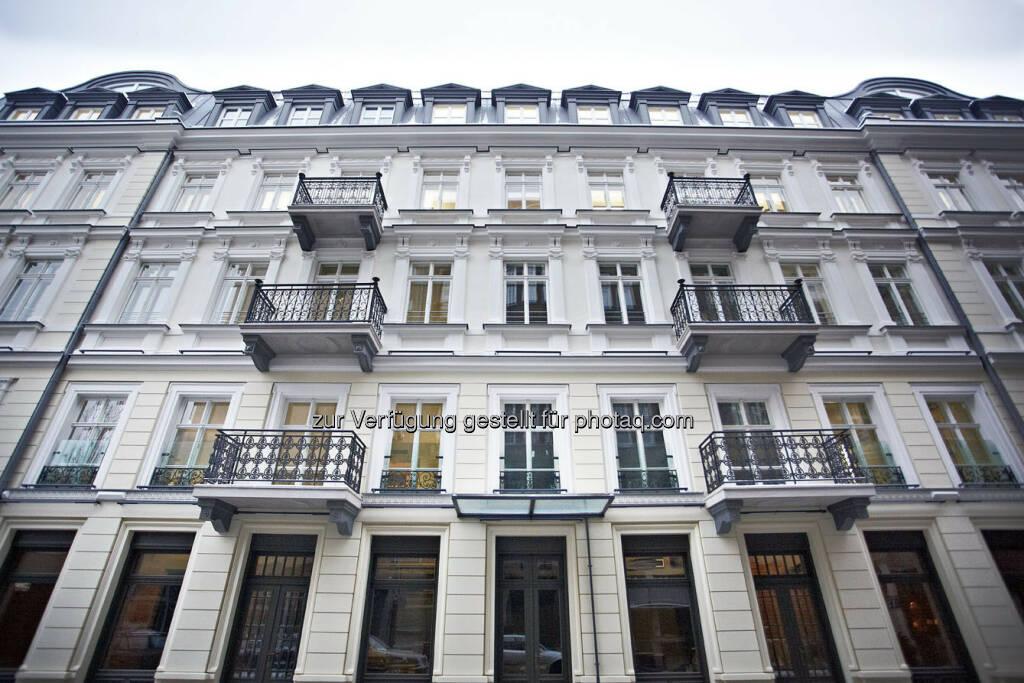 Warimpex eröffnet Le Palais Bürogebäude in Warschau - Facade Prozna (c) Warimpex (24.01.2013)