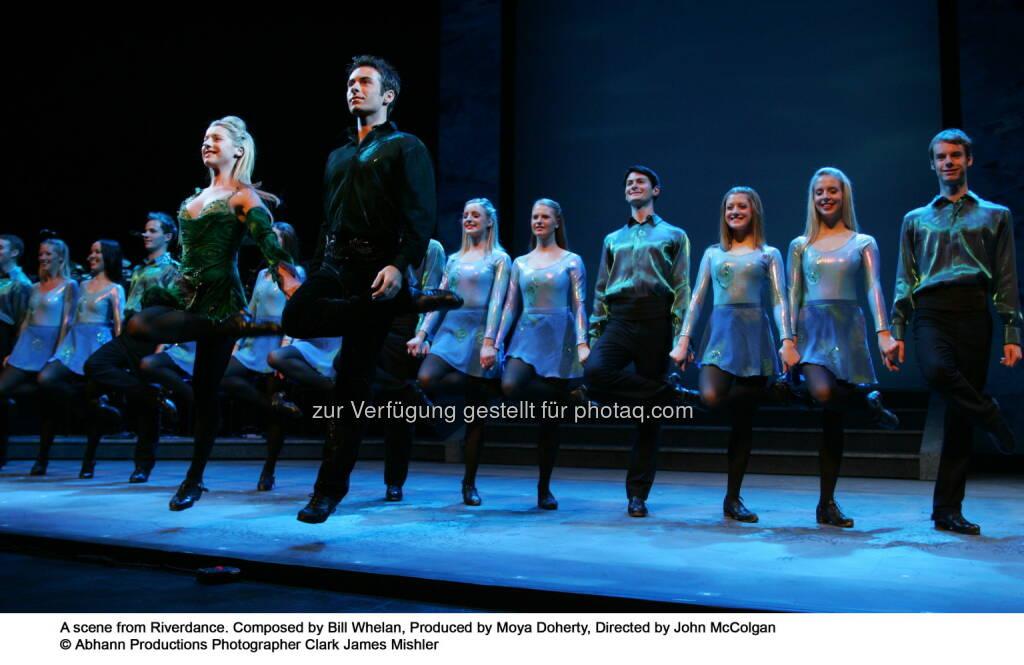 Blue Moon Entertainment: Riverdance - zum ersten Mal im Ländle - Abhann Productions, © Aussender (13.09.2014)