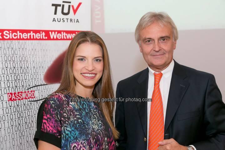 Cornelia Kreuter, Puls4, Wolfgang Hötschl, Kelly's.: Sicherheit gibt die Marke - Vortrag von Kellys-Chef im TÜV Austria Forum