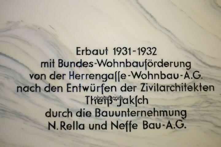 Hochhaus Herregasse 6-8 erbaut 1931-1932 Theiß-Jaksch