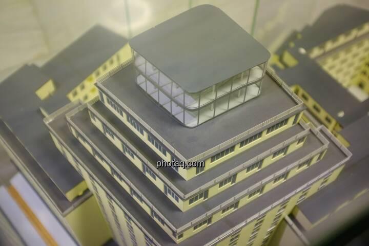 Hochhaus Herregasse 6-8 Ansicht Modell