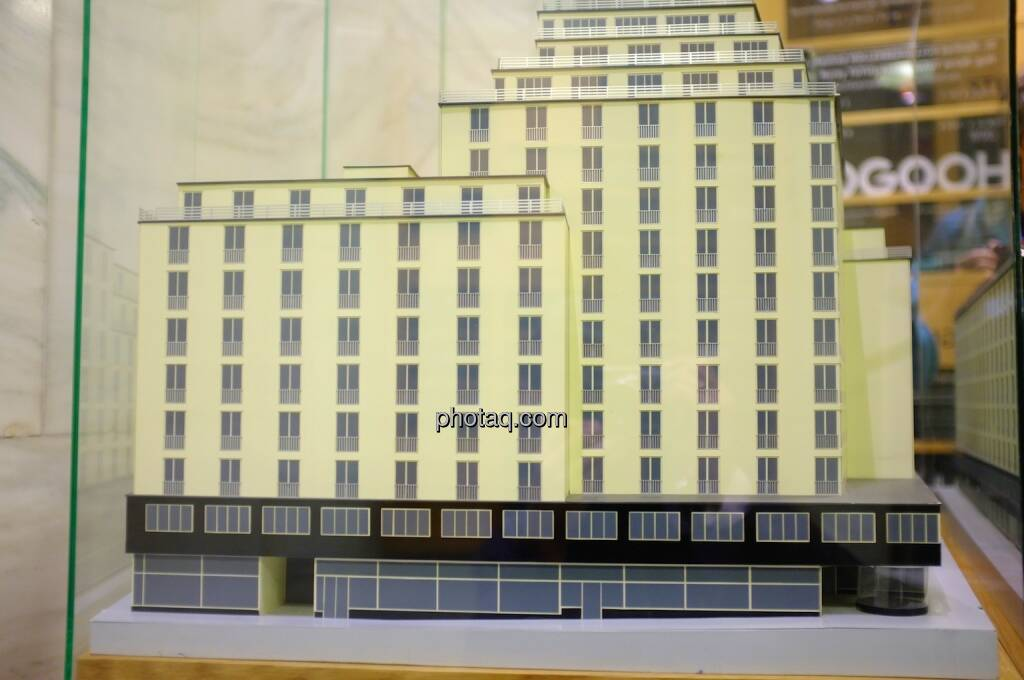 Hochhaus Herregasse 6-8 Ansicht Modell, © Josef Chladek für photaq.com (13.09.2014)