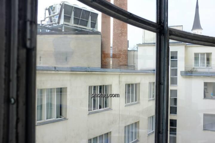 Hochhaus Herregasse 6-8 Detail Aussicht