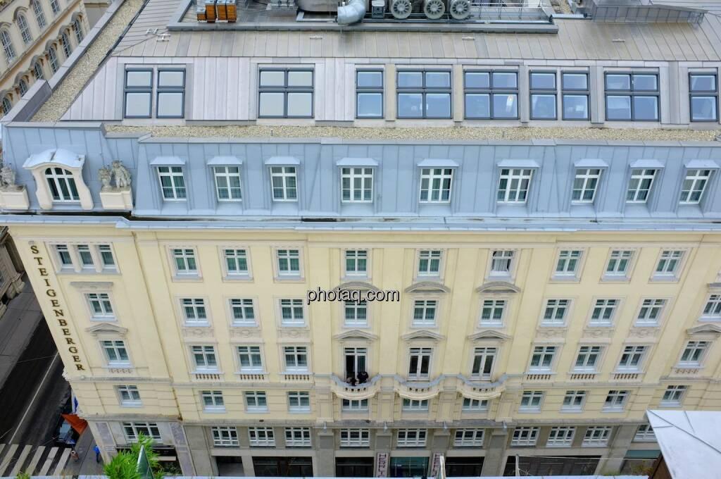 Hochhaus Herregasse 6-8 Aussicht Hotel Steigenberger, © Josef Chladek für photaq.com (13.09.2014)
