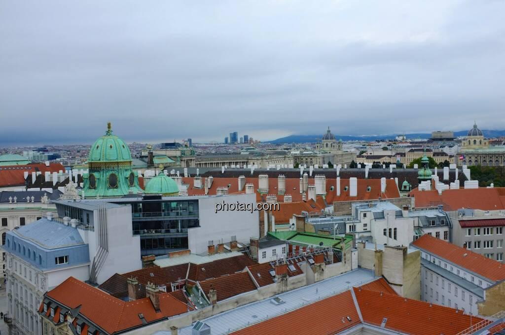 Hochhaus Herregasse 6-8 Aussicht Peterskirche, © Josef Chladek für photaq.com (13.09.2014)