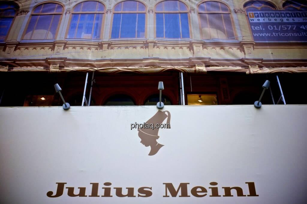 Julius Meinl, Am Graben, Logo, © photaq.com (14.09.2014)