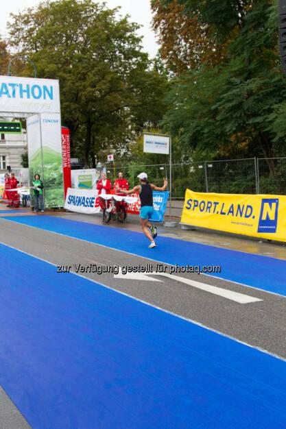 Annabelle Mary Konczer, Siegerin Viertelmarathon Damen, Wachau Marathon 2014 - mehr Bilder von Annabelle unter http://photaq.com/search/konczer, © Milena Ioveva  (14.09.2014)