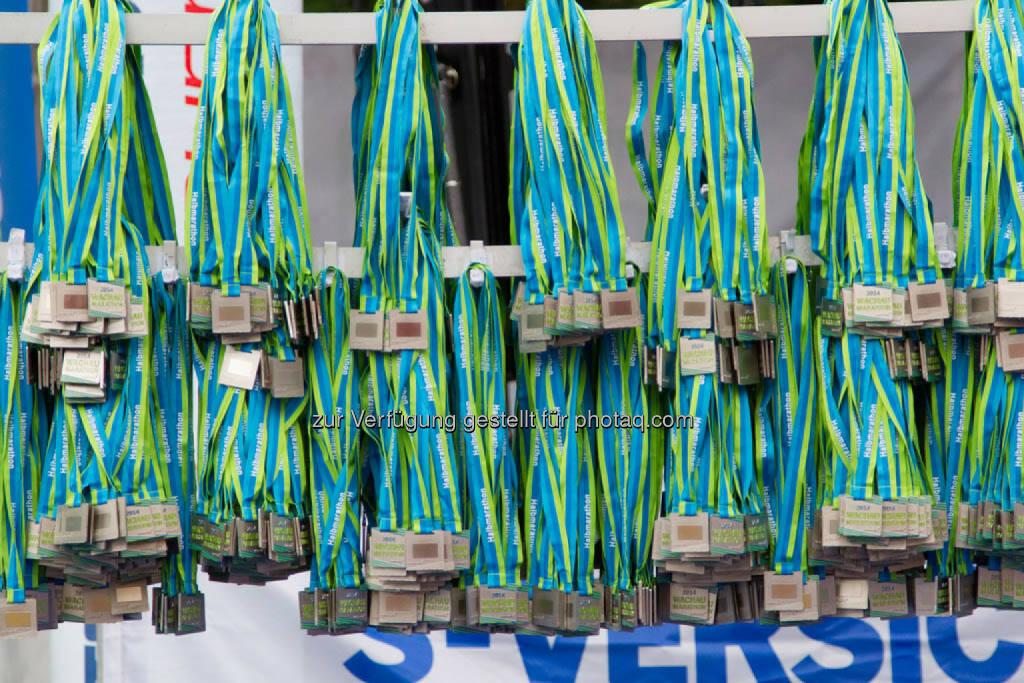Medaillen, Wachau Marathon 2014, © Milena Ioveva  (14.09.2014)