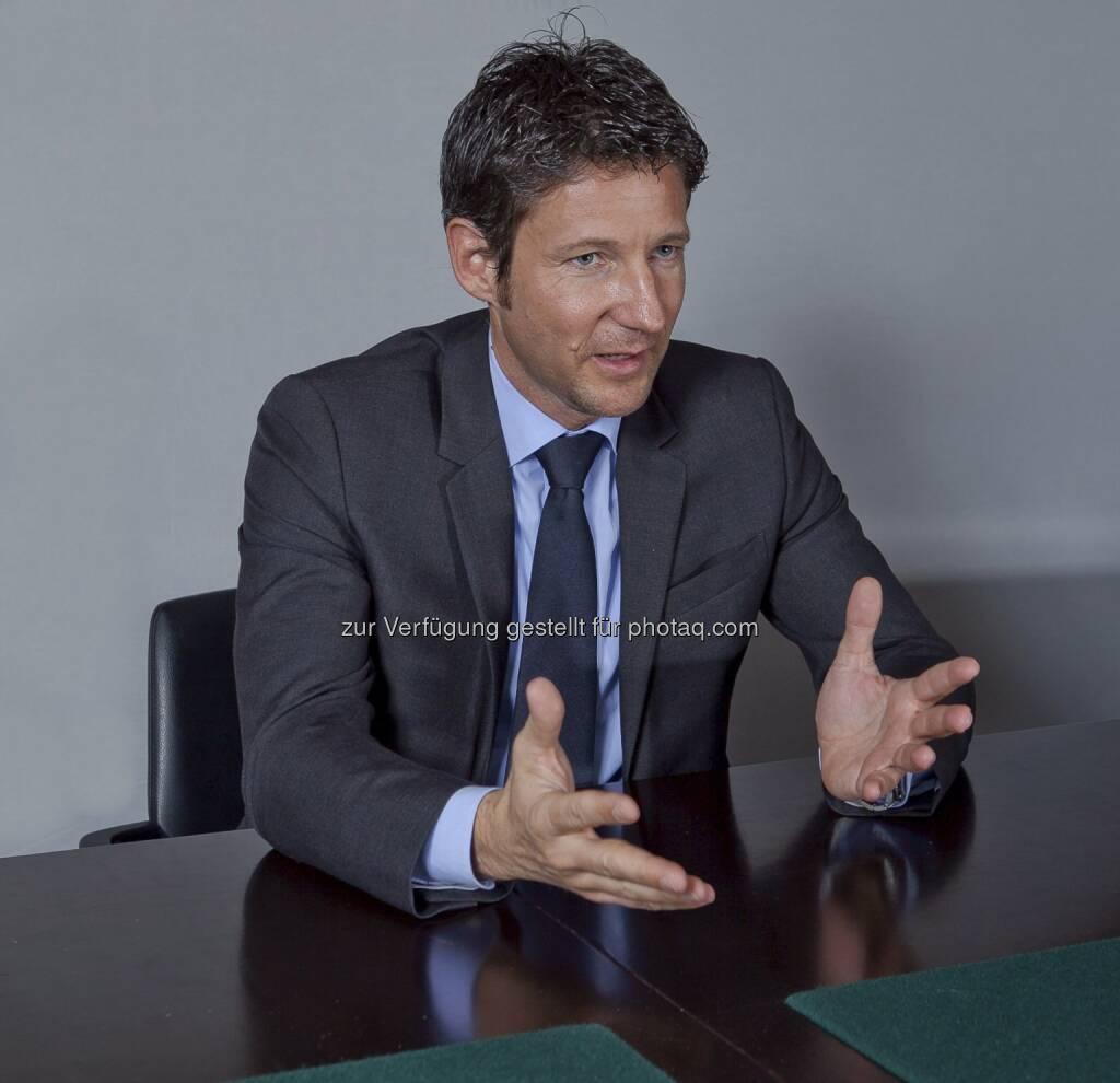 Thomas Schaufler: Bei Erste Asset Management ist er der neue Geschäftsführer für Retail Sales (c) Aussendung Erste Group (25.01.2013)