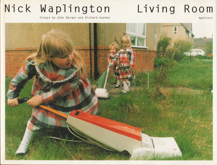 Nick Waplington - Living Room, Aperture, 1991, Cover - http://josefchladek.com/book/nick_waplington_-_living_room