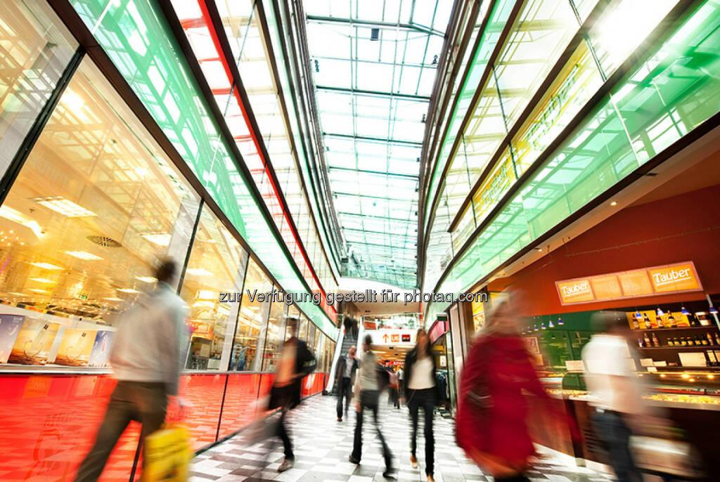 S Immo AG feiert am 18.09.2014 das zehnjährige Bestehen ihres Multifunktionszentrums Arcade Meidling in Wien. Das Gebäude befindet sich an der Ecke Meidlinger Hauptstraße/Eichenstraße im 12. Bezirk und wurde im September 2004 eröffnet. (Bild: Overmann Presse) (16.09.2014)