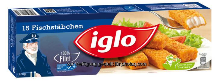 Neues Gesicht für Iss was Gscheit's: Iglo präsentiert sich mit neuem Logo und Verpackungsdesign