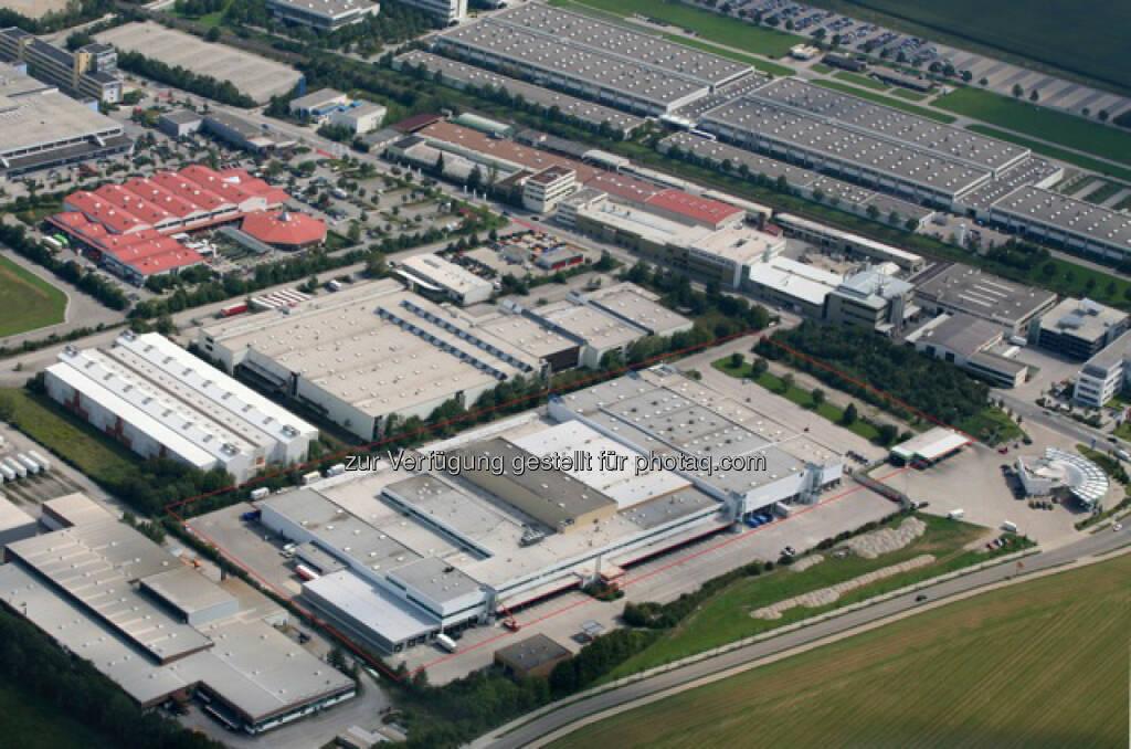Immofinanz Group: Die Deutsche Lagerhaus GmbH u. Co KG (DLG) - eine 100% Tochter der Immofinanz Group - hat für ihre Logistikimmobilie in Poing im Münchener Osten einen neuen Großmieter gewonnen: Mit dem Start-Up Unternehmen Zamaro GmbH wurde ein Mietvertrag über 8.730 m² abgeschlossen.  (17.09.2014)