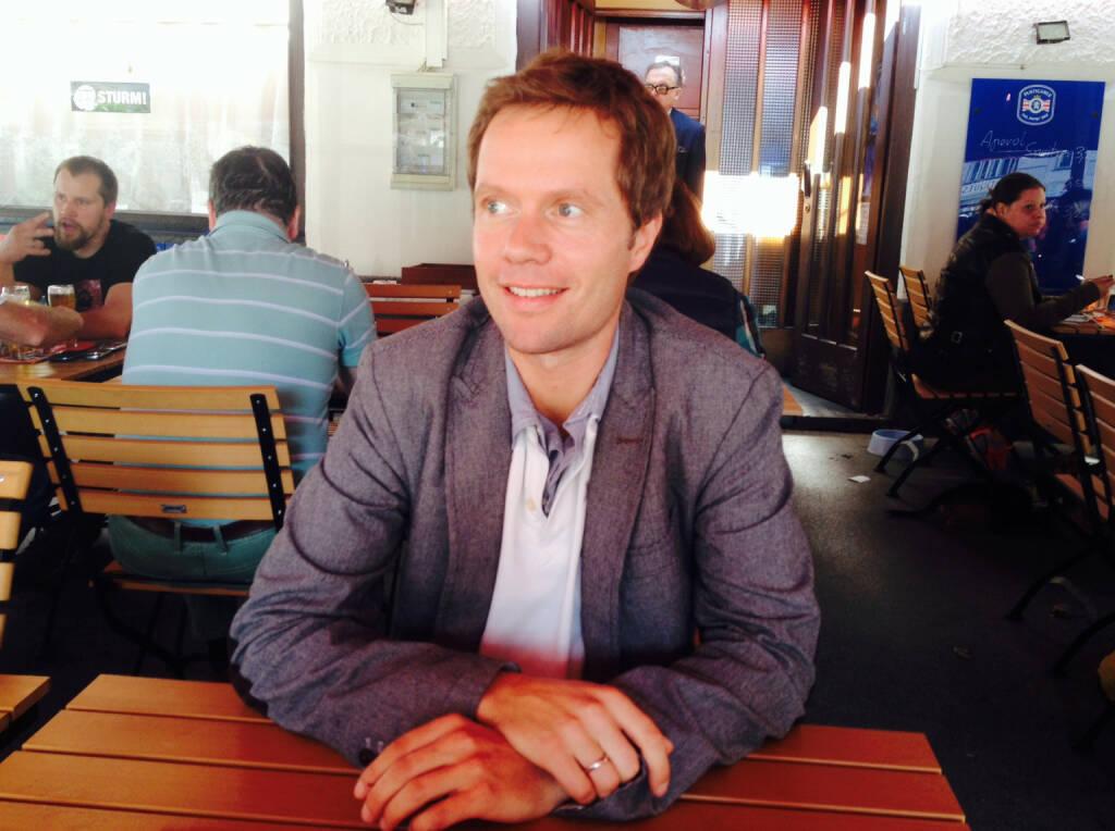 Im Talk mit Martin Watzka, http://www.dasertragreich.at, über Crowdfunding, Investmentbanking und Roboterjournalismus (17.09.2014)