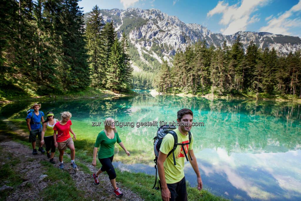 Tourismusregionalverband Hochsteiermark: Naturjuwel der Hochsteiermark im Rampenlicht: Hollywood schwärmt für den Grünen See (c) Tom Lamm, © Aussendung checkfelix (18.09.2014)
