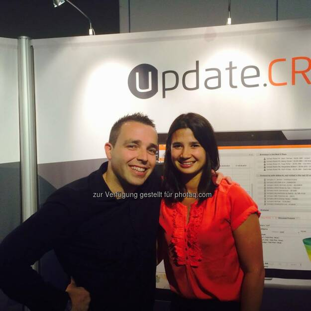 update: It's a wrap! Thank you for visiting us at the CRM in 1 Day fair and don't forget to take some goodies with you :)  Source: http://facebook.com/updateCRM (18.09.2014)