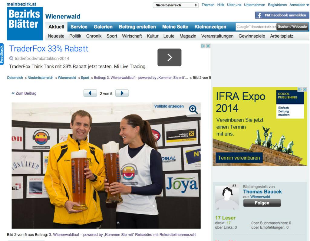 Das Runplugged-Shirt via Monika Kalbacher in den Bezirksblättern http://www.meinbezirk.at/wienerwald/sport/3-wienerwaldlauf-powered-by-kommen-sie-mit-reisebuero-mit-rekordteilnehmerzahl-m7163381,1086612.html (19.09.2014)