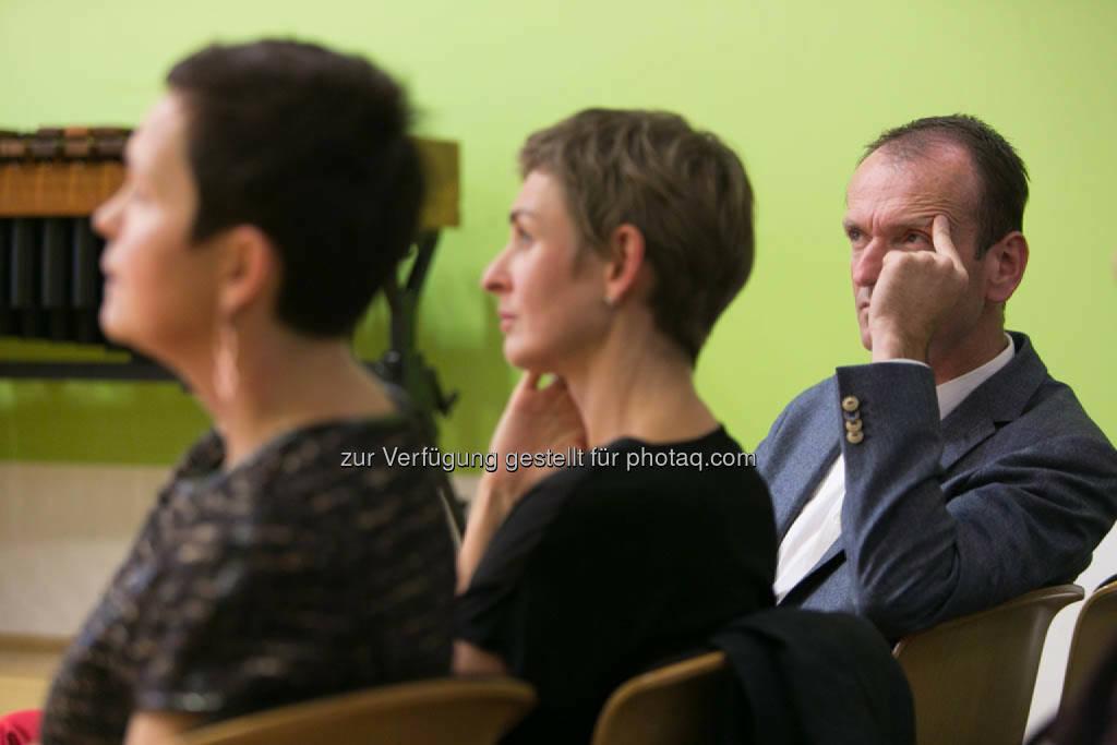 Cornelia Dankl, Bonus Vorsorgekasse AG, Sandra Majewski, Geschäftsführerin Roidinger Majewski, Christian Plas, Geschäftsführer denkstatt GmbH, © Martina Draper für CSR Circle (19.09.2014)