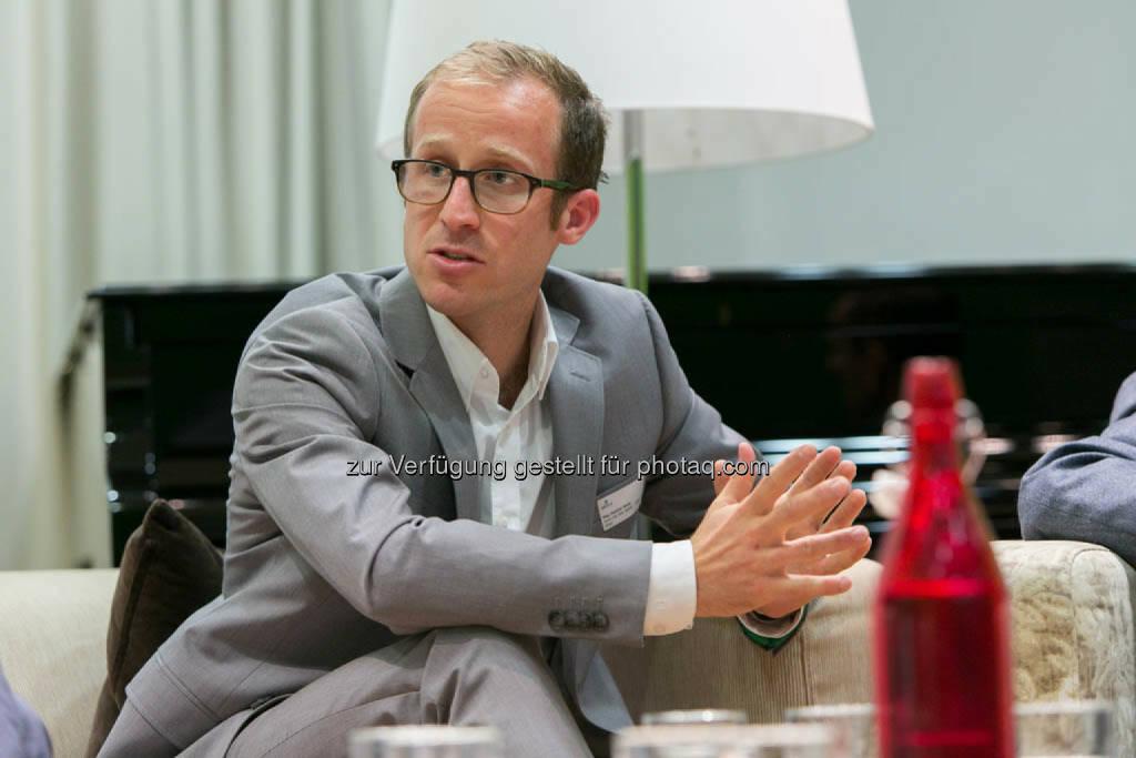 Dominic Weiss, Leitung Smart City Wien Agentur + Public Affairs, © Martina Draper für CSR Circle (19.09.2014)