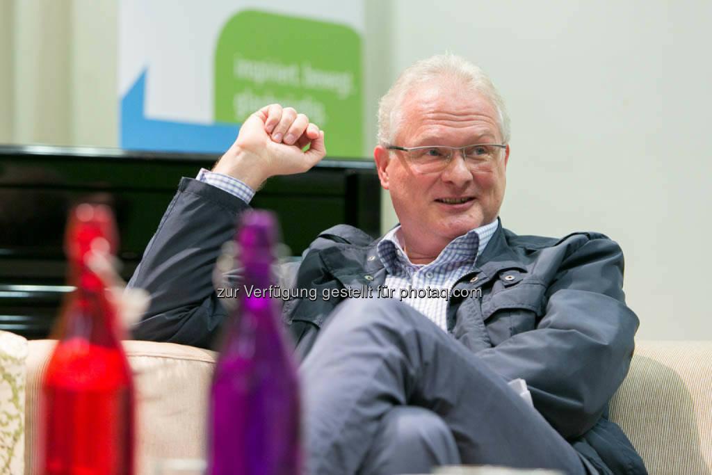 Gerhard Berger, Stadterneuerungsexperte der Stadt Wien, © Martina Draper für CSR Circle (19.09.2014)