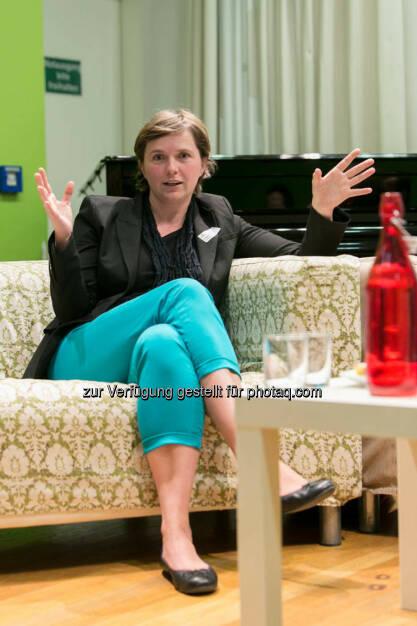 Claudia Nutz, Vorstand Wien 3420 AG, © Martina Draper für CSR Circle (19.09.2014)