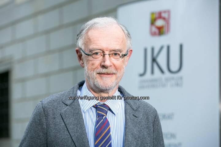 Ferdinand Hofstädter wurde zum Vizerektor für den Medizinischen Bereich der JKU Linz gewählt.