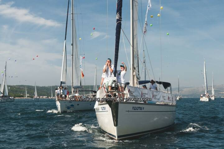 friedensflotte mirno more (Verein): Die friedensflotte mirno more 2014 im 20sten Jubiläumsjahr mit 106 Schiffen gesegelt