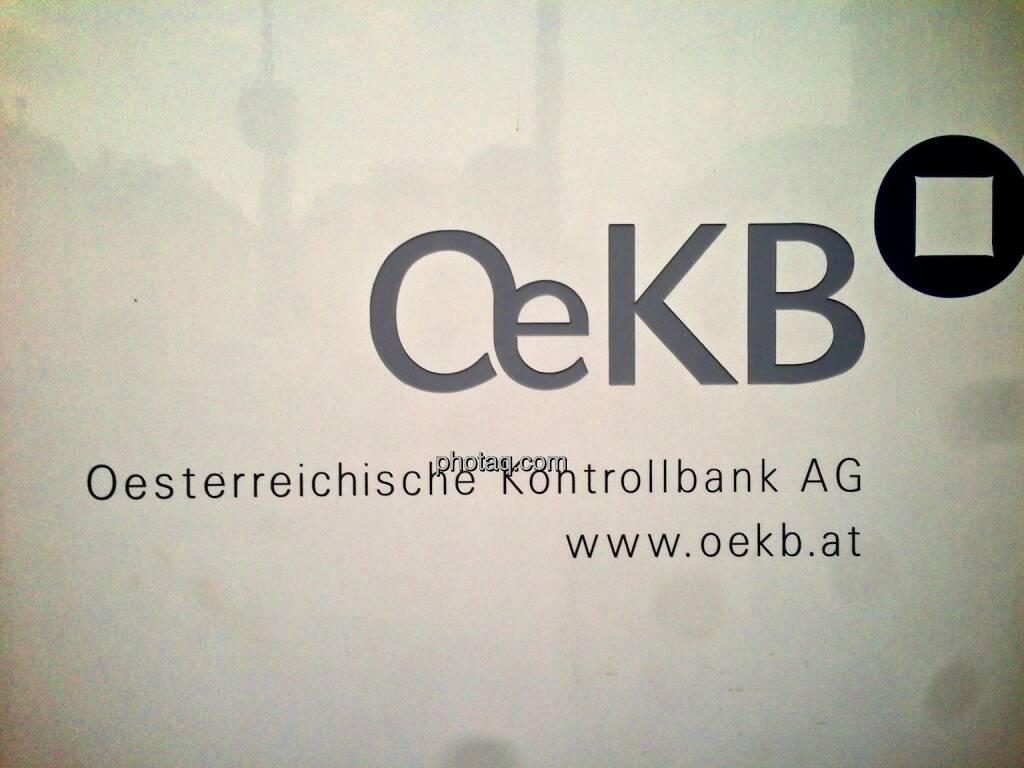 OeKB, Österreichische Kontrollbank, Logo, © photaq.com (20.09.2014)