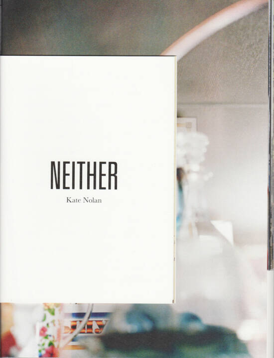 Kate Nolan - Either, Self published, 2014, Cover - http://josefchladek.com/book/kate_nolan_-_neither
