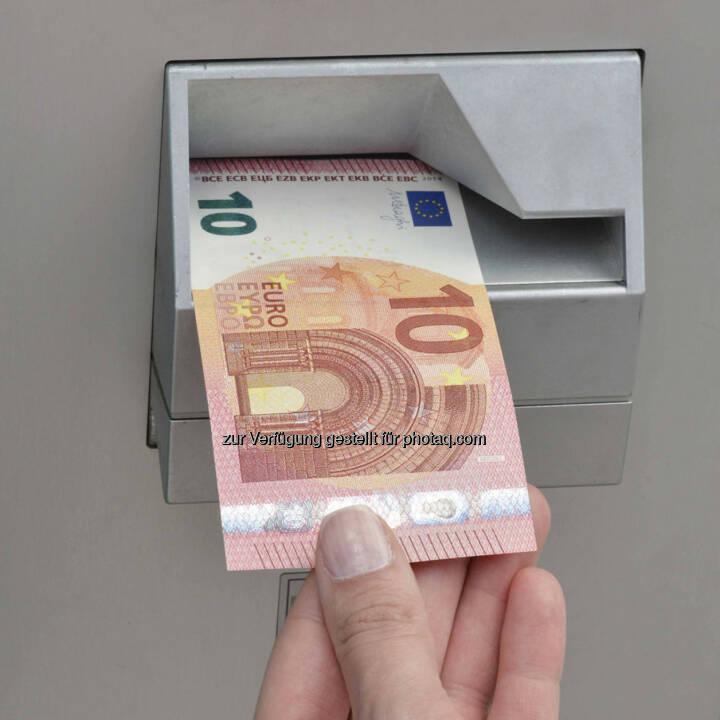 Die neue 10 Euro Banknote ab 23.9.2014 im Umlauf.