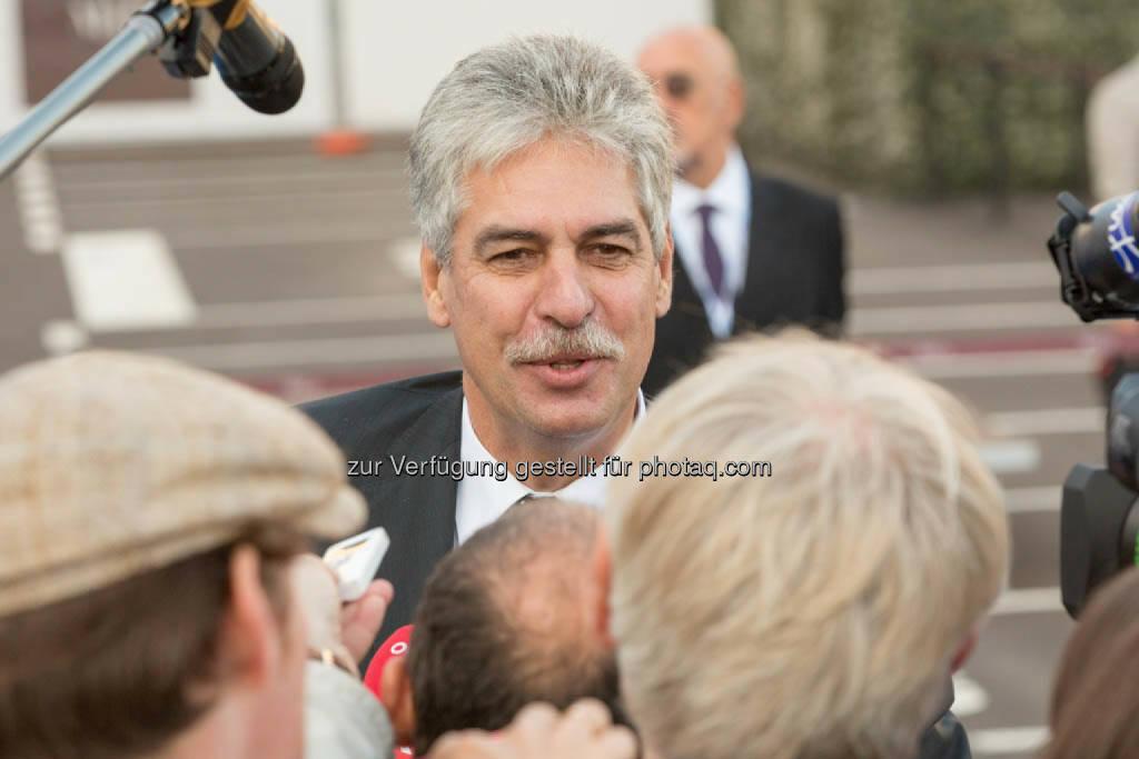 Finanzminister Hans Jörg Schelling in Mailand (C) photonews.at/Georges Schneider , © Finanzministerium (22.09.2014)