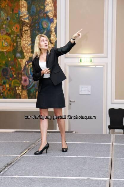 Elsa Goldberg, Produktspezialistin bei Franklin Templeton, © Ariquon Asset Management AG (22.09.2014)