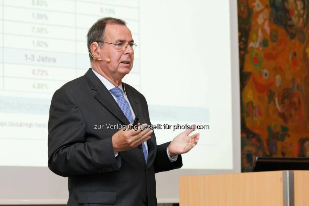 Klaus Kaldemorgen, Fonsmanager, © Ariquon Asset Management AG (22.09.2014)